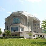 Goetheanum vanuit zuidwesten
